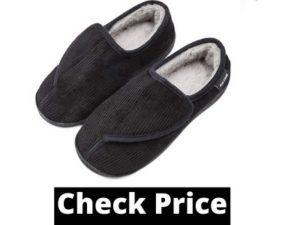 slip resistant slippers for elderly