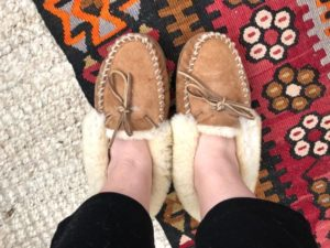 how to clean LL bean slippers