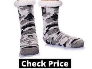slipper socks for men, mens slipper socks, slipper socks with grippers,