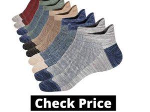 M&Z Mens Low Cut Ankle Non-slid Socks Cotton Mesh Top Fresh Ventilation Socks S/M/L