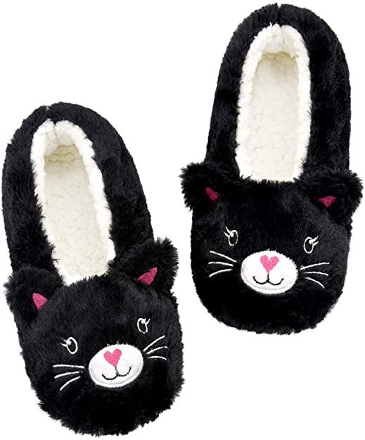 Panda Bros Womens CozyWarm Animal Slipper Socks with Grippers House Socks 1 2